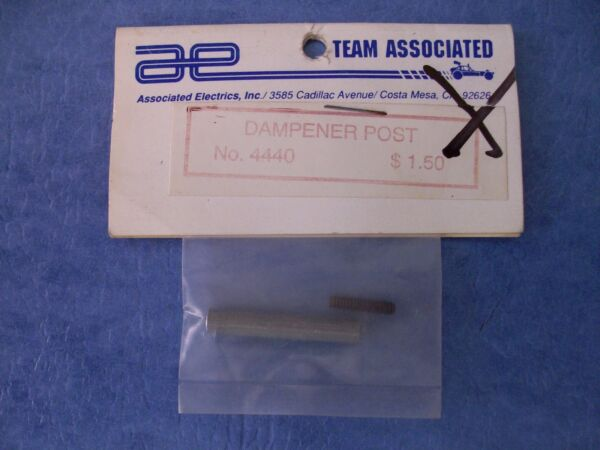 VINTAGE TEAM ASSOCIATED 4440 RARE DAMPENER POST wSCREW RC12L ASC4440 NIP