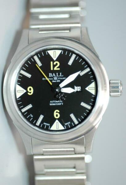 Ball Ladies Date automatic 100m330ft watch Ref. NL2088C-SJ-BKYE - Mint in box!