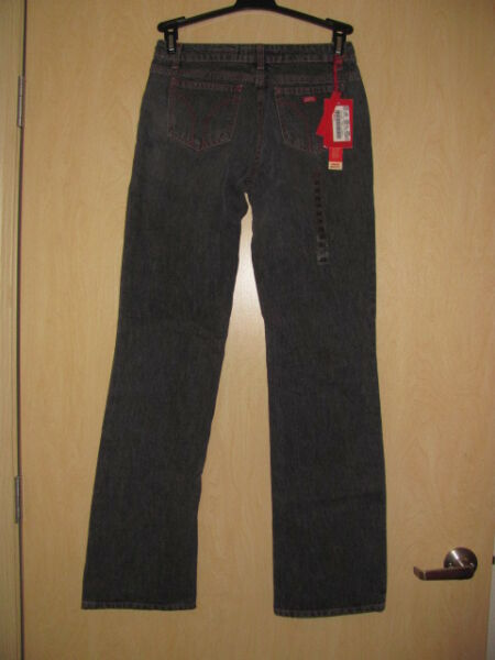 NEW MISS SIXTY STRAIGHT TOMMY WOMEN#x27;S GRAY JEAN;S 100%COTTON SZ 28 $120 $22.75