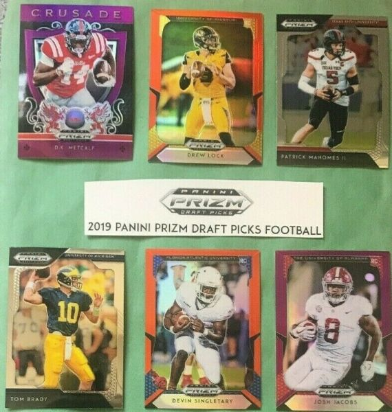 Pick your cards - Lot - 2019 Panini Prizm Draft Picks Collegiate Football