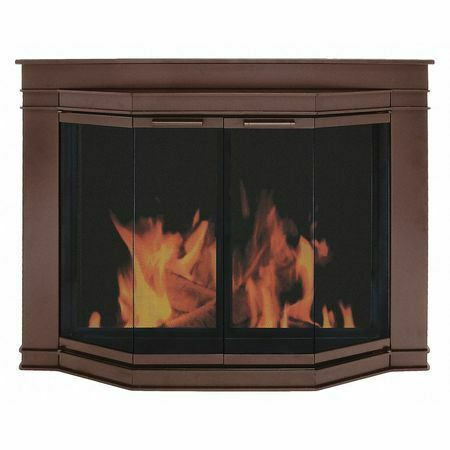 PLEASANT HEARTH GL-7701 Glacier Bay FirescreenOil Rubbed BrzM