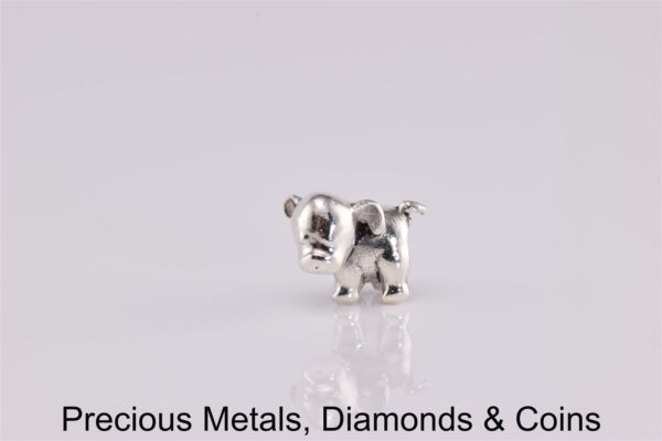Charmed Memories Sterling Silver Puppy Dog Slider Charm $18.50
