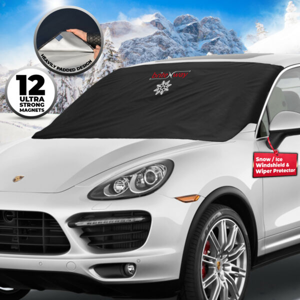 Snow Cover Windshield for Ice & Universal Fit Car van Trucks window Protector