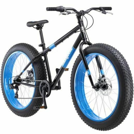 FAT TIRE BIKE Mens 26quot; Mongoose Dolomite 7 Speed Mountain Bicycle Blue *NEW* $329.38