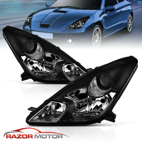 Fit 2000 2001 2002 2003 2004 2005 Toyota Celica GTGTS Projector Headlight Pair