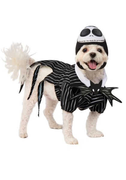 Nightmare Before Christmas Jack Skellington Costume For Dogs $29.98