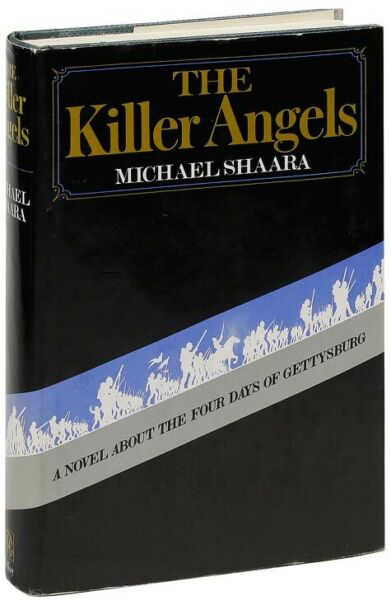 Michael Shaara-THE KILLER ANGELS (1974)-1ST ED 1ST PRINT PULITZER PRIZE WINNER