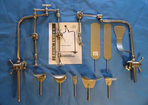 IRON INTERN RETRACTOR SYSTEM  FOR GENERAL SURGERY--GENUINE IRON INTERN--UNUSED!
