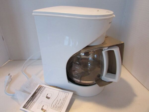 PROCTOR SILEX AUTOMATIC COFFEE MAKER MODEL 43501 GENTLY USED 12 CUP GLASS CARAFE