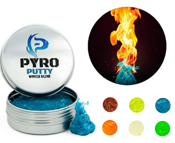 PYRO PUTTY Pliable Fire Starter Camping Hiking Survival Emergency Water Proof