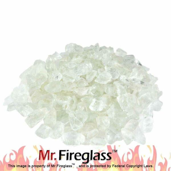 Recycled Fire Glass for Natural or Propane Fire Pit Fireplace…10lb Aqua