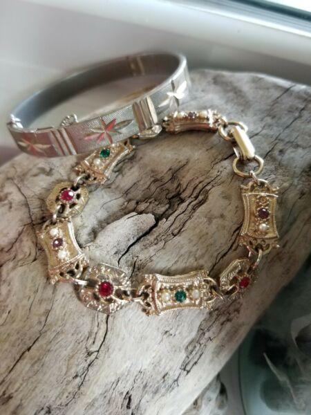 Vintage Sarah Coventry Bracelet Lot of two
