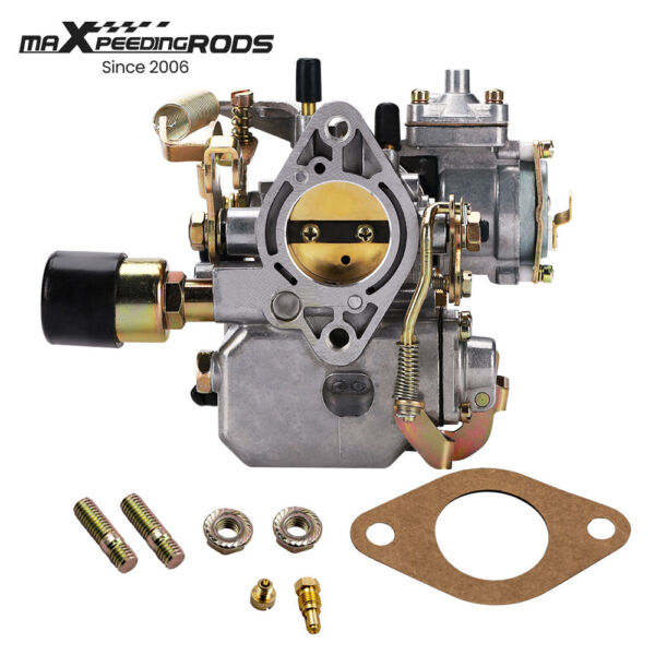 NEW 34 PICT 3 CARBURETOR W screws 12V ELECTRIC FOR VW BEETLE 113129031K $59.50