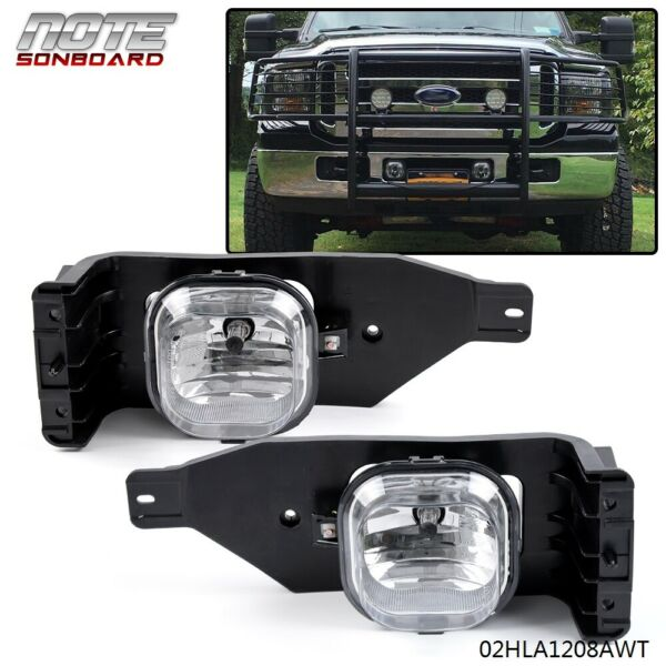 Excursion Driving Bumper Fog Light Lamps For 05-07 Ford F-250 F-350 F-450 F-550