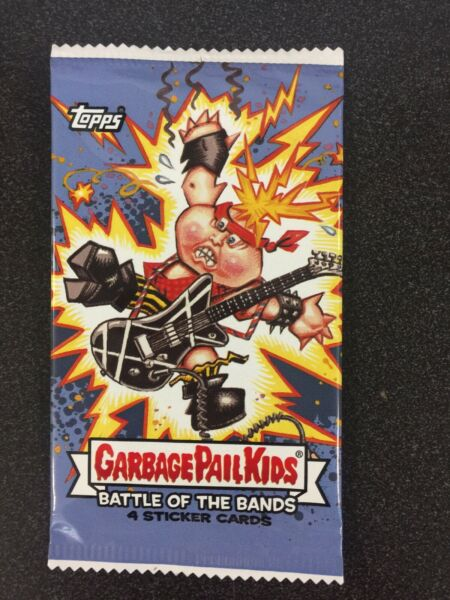 Garbage Pail Kids Battle Of The Bands Sealed Packs