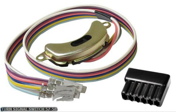 NEW! 1957 - 1958 Chevy Bel Air Nomad Impala Biscayne 150 210 Turn Signal Switch