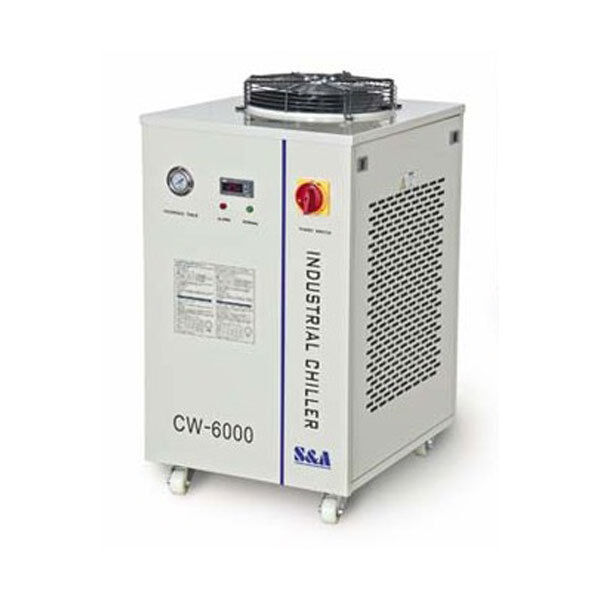 220V 60HZ CW-6000BH Industrial Water Chiller for  3 x 100W or 4 x 80W CO2 Tubes