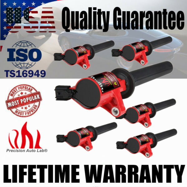 6 Pack Ignition Coil For Ford Escape Mercury Mariner Mazda Tribute V6 3.0L DG500