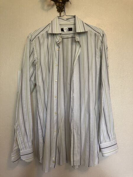 ETRO Mens Shirt Casual Made In Italy 40m $14.99