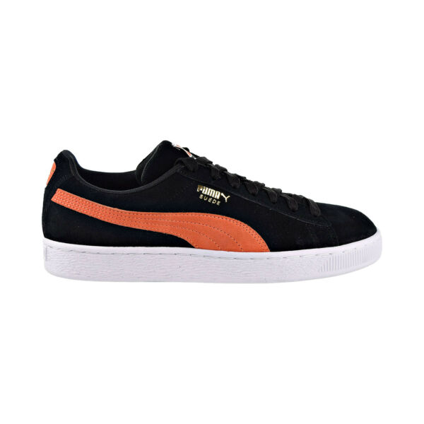 Puma Suede Classic Mens Shoes BlackFirecrackerWhite 365347-38