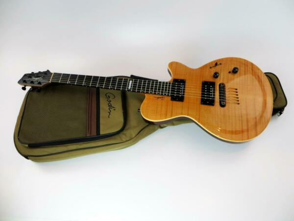 Godin Summit CT Flame Maple Top Natural Electric Guitar $740.00