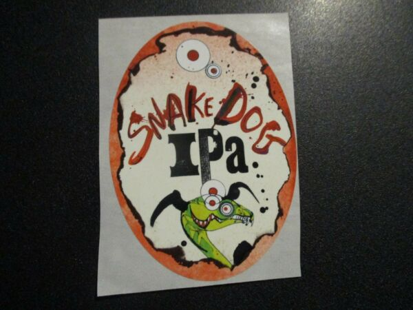 FLYING DOG SNAKE DOG raging bitch STICKER decal craft beer brewing brewery $1.49