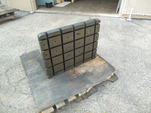 Cast Iron T-slotted Angle Plate 30-14