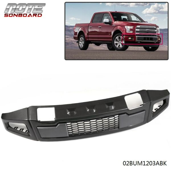 For Ford F150 2015-2017 Iron Raptor Style Front Bumper Assembly Black