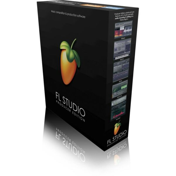 Image-Line FL Studio V20 Producer Edition Music Production DAW Software Boxed