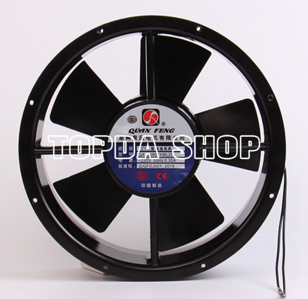 1pc QA22090YHBL2D ac220v 0.35A 255*255 fzy axial fan frequency cooling fan