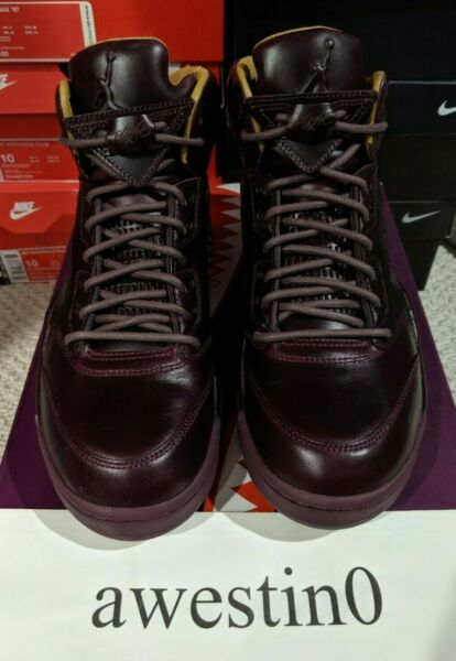 DS Nike Air Jordan V 5 Retro Premium Bordeaux/Sail