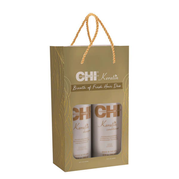 Farouk CHI Keratin Shampoo Conditioner Liter DUO 32 oz.