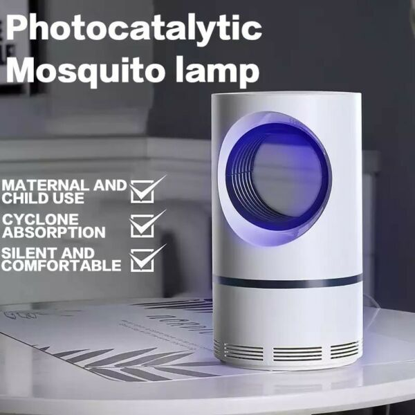 Electric Fly Bug Zapper Mosquito Insect Killer LED Light Trap Pest Control Lamp $8.89
