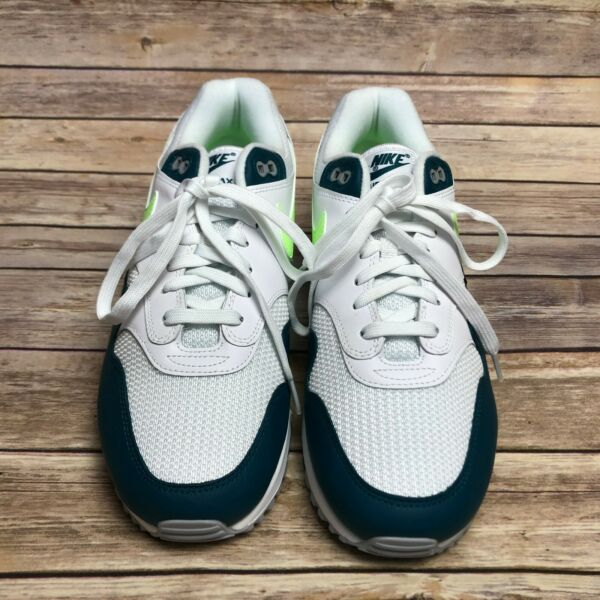 AJ7695-103 Nike Air Max 90/1 Spruce Lime Mens Sneakers Shoes Size 9.5