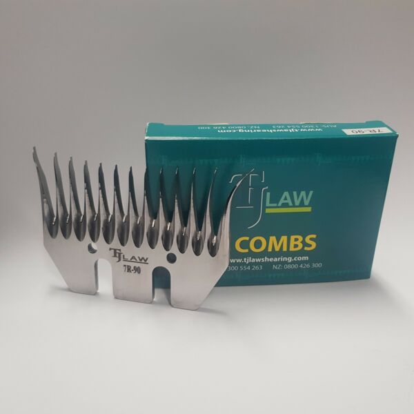 BULK PURCHASE - TJ Law Shearing Combs - Starting from 50 pcs (10 packs)