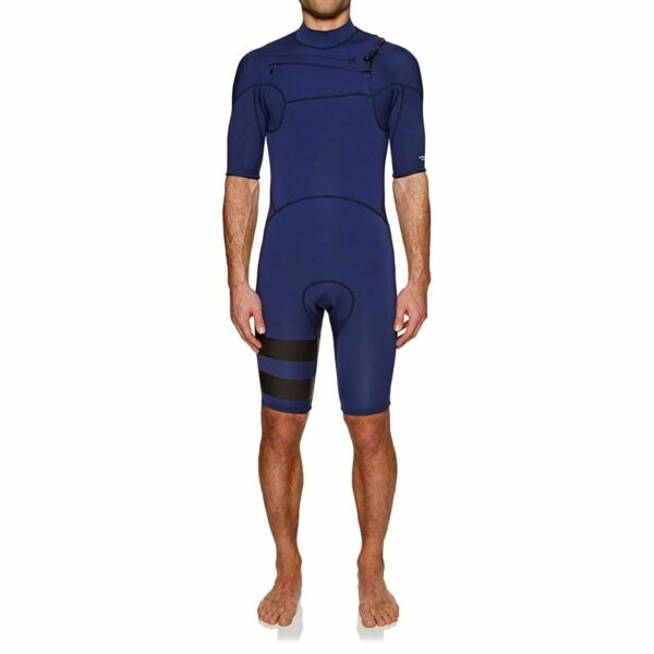 890922 421 Mens Hurley Advantage Plus 2 2 Short Sleeve Spring Suit $79.99