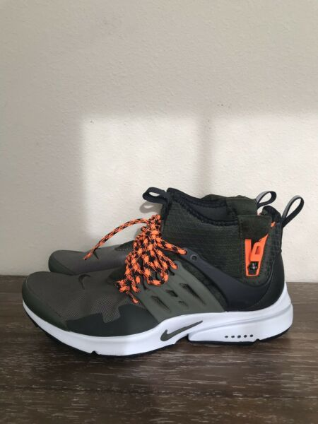 New NIKE AIR PRESTO MID UTILITY Shoes Size 8  859524-301 C