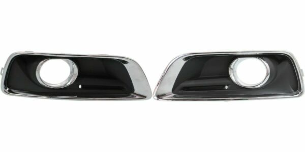 FITS FOR MALIBU 2013 2014 2015 2016 FOG LAMP COVER W HOLE RIGHT amp; LEFT PAIR SET