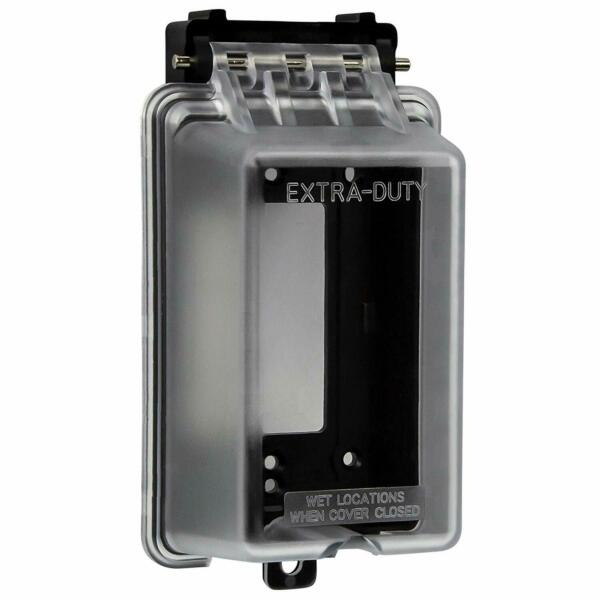 ENERLITES Extra Duty Weatherproof Outdoor Cover for Decorator GFCI Receptacle $8.20