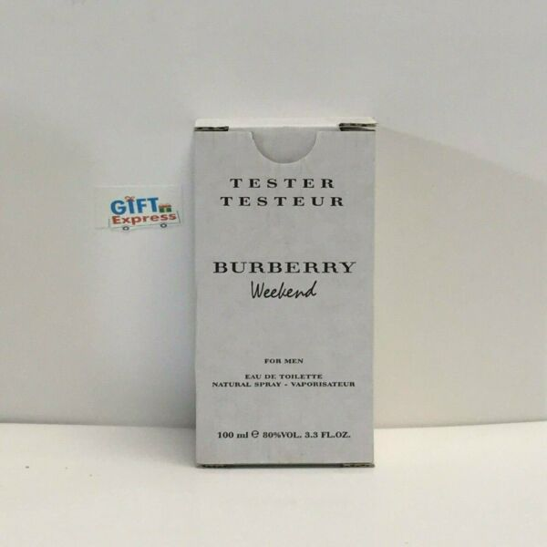 BURBERRY WEEKEND Cologne for Men 3.3oz TESTER IN BOX $24.68