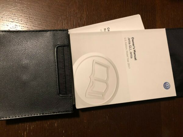 2017 VOLKSWAGEN JETTA GLI OWNERS MANUAL SET WITH CASE