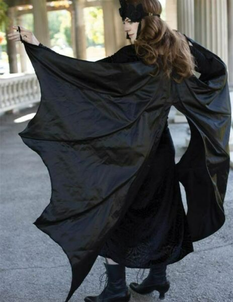 Victorian Trading Black Bat Wing Halloween Costume Cape