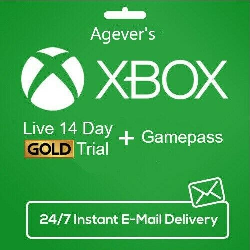 XBOX LIVE 14 Day GOLD Game Pass Ultimate Trial Code INSTANT DISPATCH $2.45