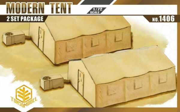 TOXSO Model 1 72 Military Tents 2pcs