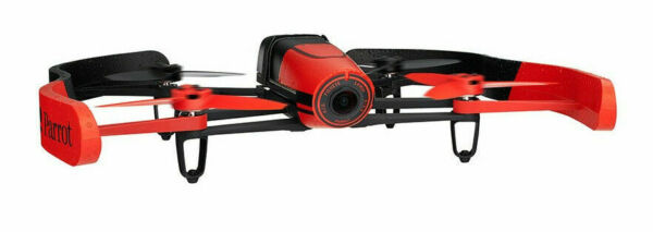 Parrot BeBop 14 MP Camera Drone - Red w/ Extra Wing Bumpers