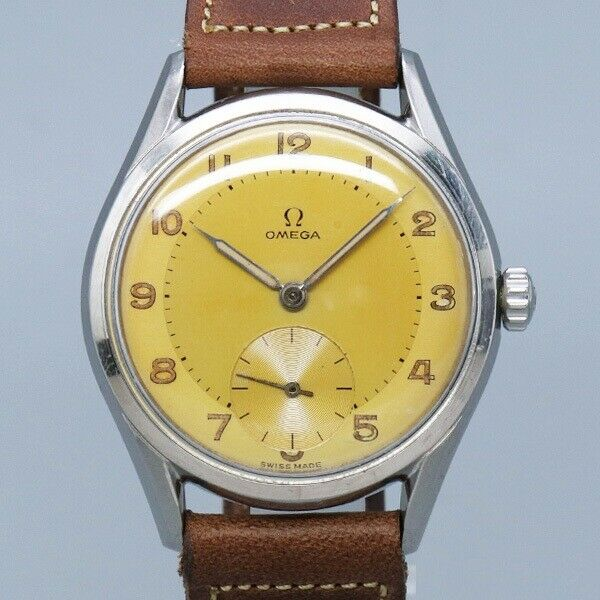 Omega Original Dial Small Second 2791-1 Cal.266 1954 Vintage Hand winding Watch