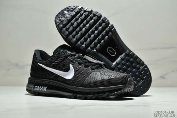 NIKE AIR MAX 2017 MEN'S RUNNING SHOES(WHITEBLACK) Size 7-13 New In Box MOVEMENT