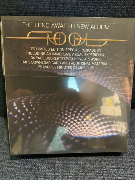 TOOL Fear Inoculum DELUXE Limited Edition CD 4