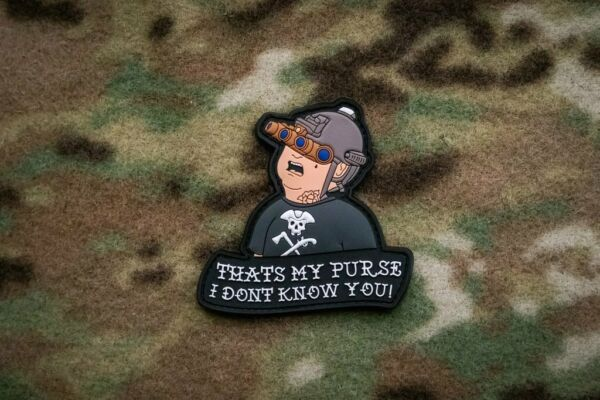 Bobby Hill King Of The Hill 3D PVC Morale Patch Moeguns Topsy M1A1 My Purse!