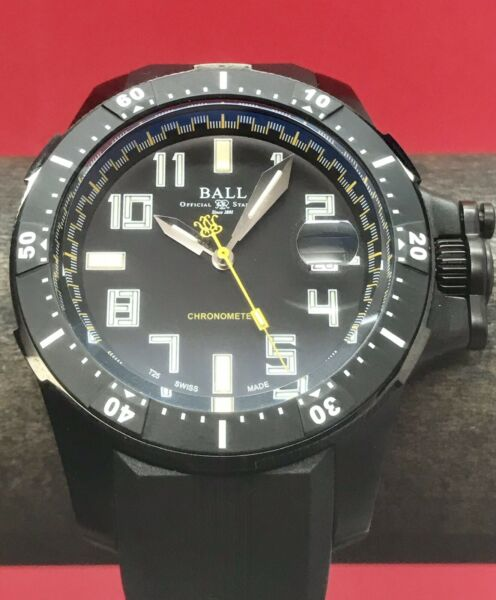 BALL ENGINEER HYDROCARBON BLACK Swiss Automatic CoSC DOC Titanium Case 42mm 300m